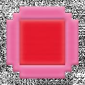 Video Game Valentine Rubber Stamp- Block