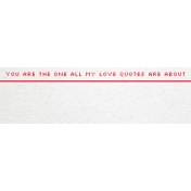 Video Game Valentine Tag- All My Love Quotes