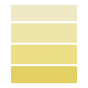 Here & Now- Paint Chip Pocket Card- 3x4- Yellow