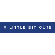 Video Game Valentine Label- Little Bit Cute
