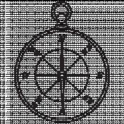 Compass Stamp 8