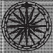 Compass Stamp 9
