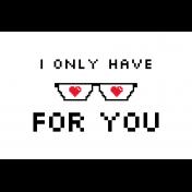 Video Game Valentine Card 4x6 05b 0