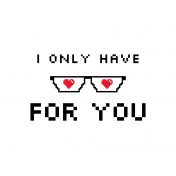 Video Game Valentine Card 4x6 05b 0