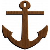 The Captain Wood Anchor