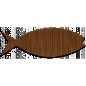 Fisher Wood Fish