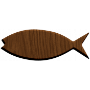 Fisher Wood Fish 2