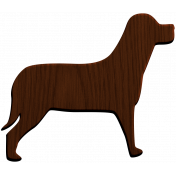 Hunter Wood Dog