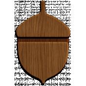 Woodsman Wood Acorn