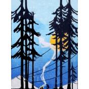 Woodsman Woods Pocket Card 1 Blank