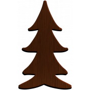 Woodsman Wood Tree 2