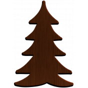 Woodsman Wood Tree 3