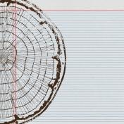 Woodsman Paper 845- Tree Ring