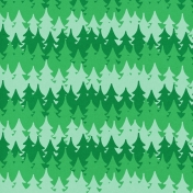Oregonian Paper Trees- Green