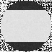 Oregonian Circle Label- Black