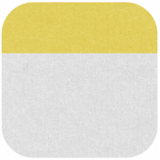 Oregonian Round Label- Yellow