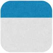 Oregonian Round Label- Blue