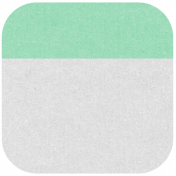 Oregonian Round Label- Mint Green