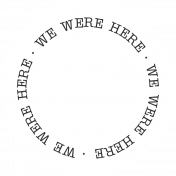 Oregonian Label- We Were Here