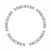 Oregonian Label- Reminder