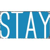 Oregonian Label- Stay