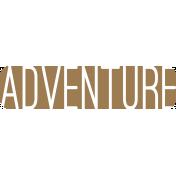 Oregonian Label- Adventure