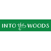 Oregonian Label- Into the Woods