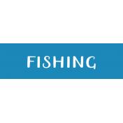 Oregonian Label- Fishing