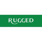Oregonian Label- Rugged