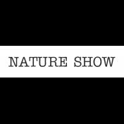 Oregonian Label Nature Show