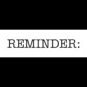 Oregonian Label Reminder