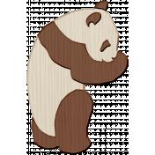 Panda Love Panda Wood