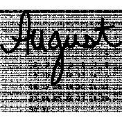 2015 Calendar August