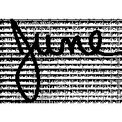 Handwritten Calendar Word June
