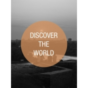 Photo Pocket Card Discover The World