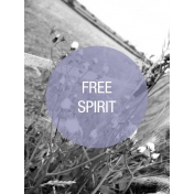 Photo Pocket Card Free Spirit