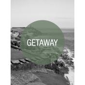 Photo Pocket Card Getaway