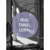 Photo Pocket Card Read Travel Learn