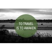 Travel Photo Card Awaken