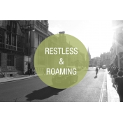 Travel Photo Card Restelss Romaing