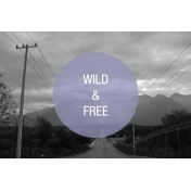 Travel Photo Card Wild Free