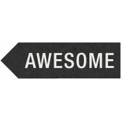 Kraft Travel Label Awesome 1