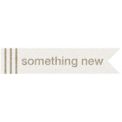 Kraft Travel Label Something New 1