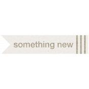 Kraft Travel Label Something New 2