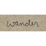 Travel Word Snippet Wander
