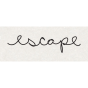 Travel Word Snippet Escape