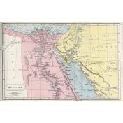 Ephemera 010 Aegyptus Vintage Map