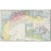 Ephemera 011 Africaantiqua Vintage Map
