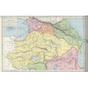 Ephemera 013 Armenia Vintage Map