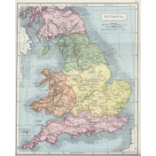 Ephemera 016 Britannia Vintage Map